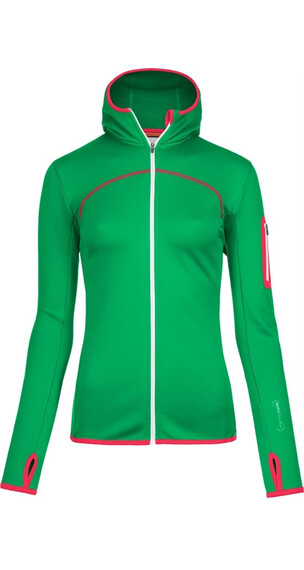 Ortovox W's Fleece Hoody (MI) Crazy Green